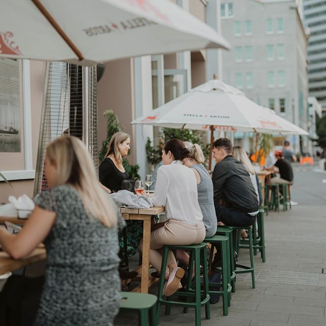 It's now officially summer and you'll be wanting to snag an outdoor table at The Brit