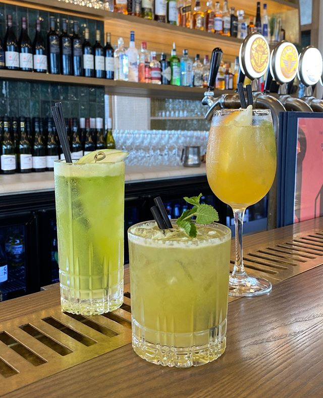 Our three new cocktails of the month!
